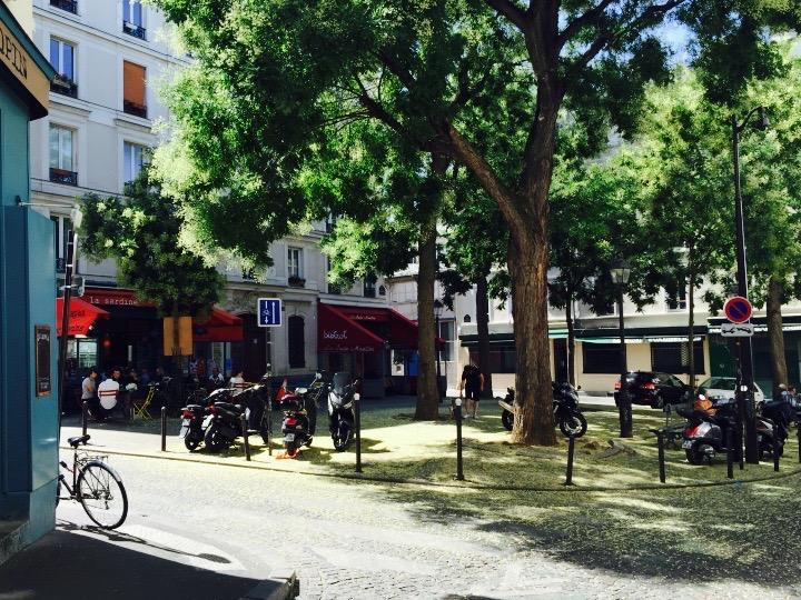 La Place Sainte-Marthe