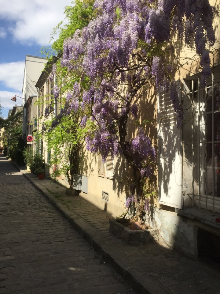 A one-street Village in Paris: la Rue des Thermopyles