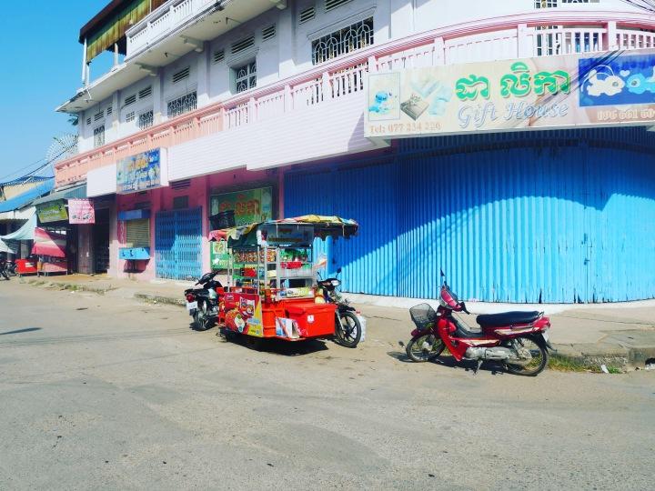 A Battambang street view