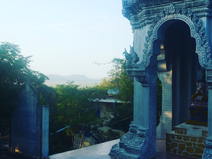 The temple on a hill just outside Battambang